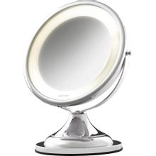 Espelho para Maquiagem com Luz e Aumento Crysbel