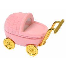 Estojo para Joias Infantis Carrinho de Bebe (Anel)