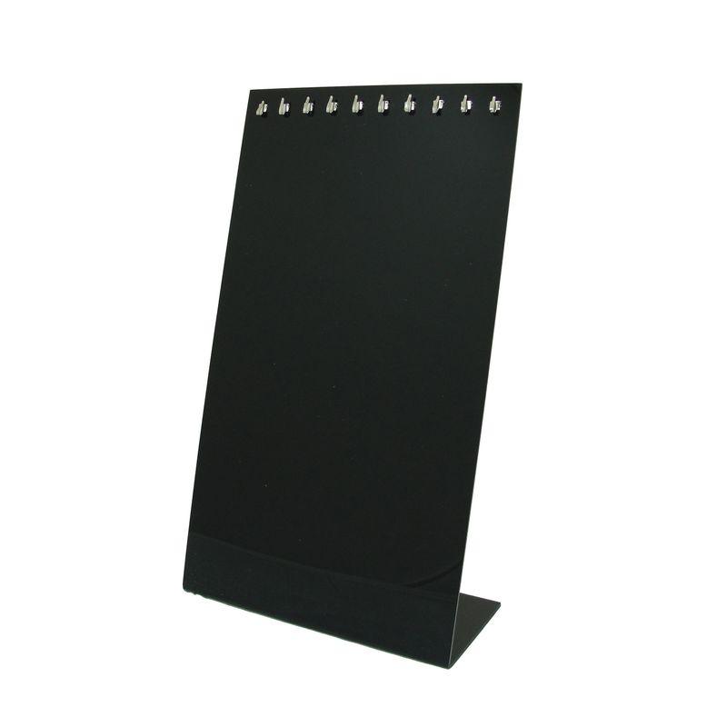 Expositor-Acrilico-Cordao-25cm-preto