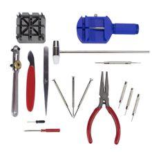 Kit para Relojoeiro para trocar baterias e pulseiras (Kit com 16 peças)