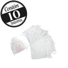 10 Saquinhos Organza 9x11 Pequeno