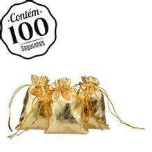 100 Saquinhos Lamê Atacado 7 x 9