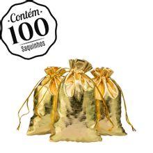 100 Saquinhos Lamê Atacado 10 x 15
