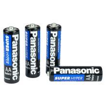 Pilha Panasonic AA Comum Blister com 4 Unidades