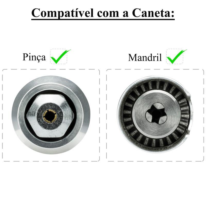 Compatibilidade-pinca-mandril