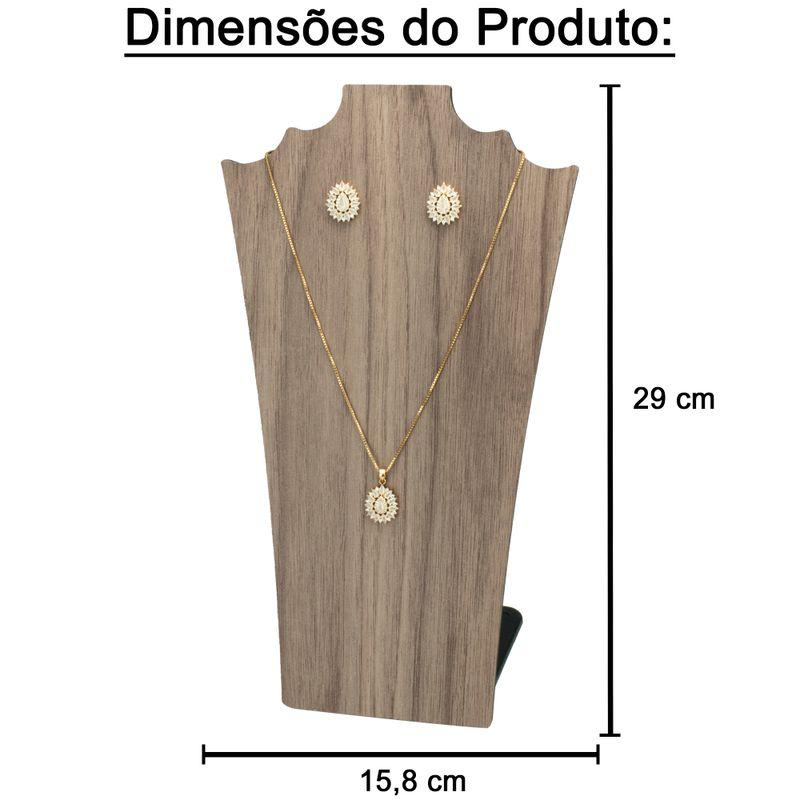 Expositor-busto-madeirado-