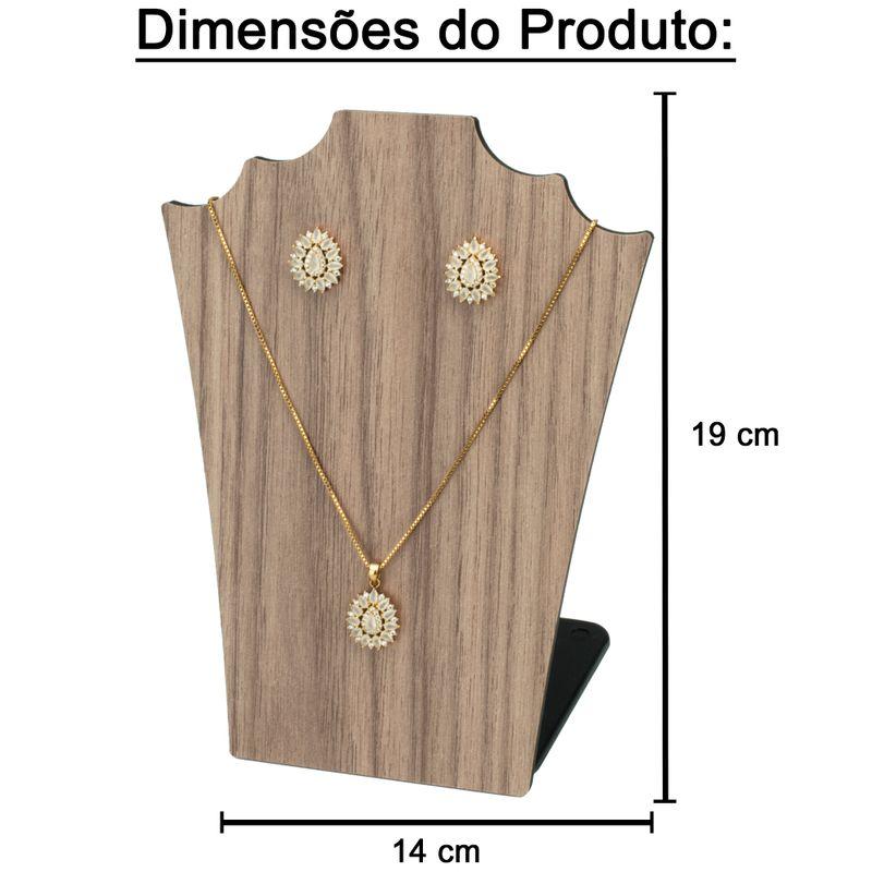 Expositor-busto-madeira