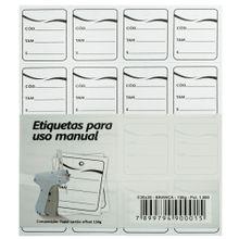 1.000 Etiquetas Cartão de Papel para Roupa Singularis