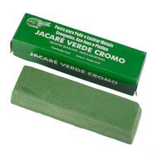 Massa Jacaré Verde de Polir Ouro, Prata e Aço (Abrasividade Média)