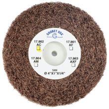 Escova Rotativa Scotch Bright Grobet USA para Polir e Fosquear (17.862 AC)